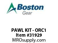 BOSTON 83334 PAWL KIT - ORC1 RESET & DRIVE PAWL KIT