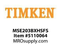 TIMKEN MSE203BXHSFS Split CRB Housed Unit Assembly