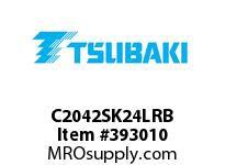 US Tsubaki C2042SK24LRB C2042 RIV 4L/SK-2