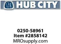 HUB CITY 0250-58961 SSHB2043PL 13.51 143TC Helical-Bevel Drive