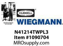 WIEGMANN N41214TWPL3 WINGHANDLEPADLOCKINGT3PT