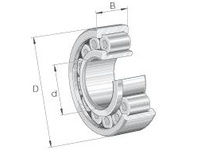 INA SL192306 Cylindrical roller bearing-full com