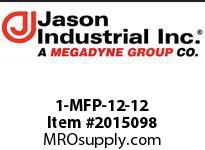 Jason 1-MFP-12-12 NPT MALE R1/R2