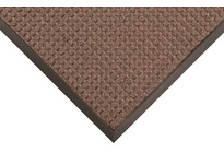 NoTrax 166S0310BR 166 Guzzler 3X10 Brown Guzzler is part of the AquaTRU series of entrance mats that offer truer size options for a better value. Intended for use in medium to heavy traffic areas the raised crushproof waffle design of Guz