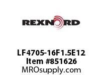 REXNORD LF4705-16F1.5E12 LF4705-16 F1.5 T12P LF4705 16 INCH WIDE MATTOP CHAIN WI