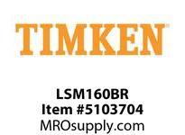 TIMKEN LSM160BR Split CRB Housed Unit Component
