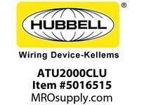 HBL_WDK ATU2000CLU OCCSENSUSCLNGLNVOLTAGE2000 SQ FTUS