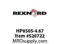 REXNORD HP8505-4.67 HP8505-4.66 143555