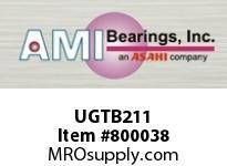 AMI UGTB211 55MM WIDE ECCENTRIC COLLAR TAPPED B SINGLE ROW BALL BEARING