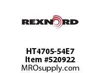 REXNORD HT4705-54E7 HT4705-54 E7-5/16D 152801