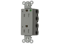 HBL_WDK SNAP2172GYLTRA SNAPCONNECT DECO HG 15A/125V LED TR GR
