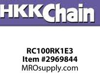 "HKKRC100RK1E3 60 Stainless Stee (304) C/L COT. TYPE 3/4"" pitch Stainless Stee (304) conn link"
