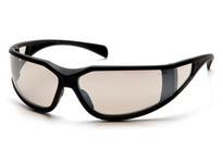Pyramex SB5180DT Glossy Black Frame/Indoor/Outdoor Mirror Anti-Fog Lens
