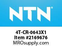 NTN 4T-CR-0643X1 Small Size TRB D<=101.6