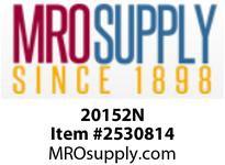 MRO 20152N 1/4 PUSH-IN UNION ELBOE N-PLTD