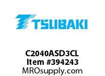 US Tsubaki C2040ASD3CL C2040AS D-3 CONN LINK SC