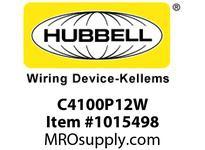 HBL-WDK C4100P12W PS C-IEC PLUG 3P4W 100A 125/250VW/T