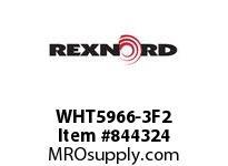 REXNORD WHT5966-3F2 WHT5966-3 F1 T2P WHT5966 3 INCH WIDE MATTOP CHAIN WI