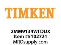 TIMKEN 2MM9134WI DUX Ball P4S Super Precision