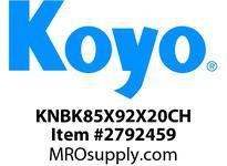 Koyo Bearing K85X92X20CH NEEDLE ROLLER BEARING