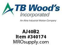 TBWOODS AJ40B2 AJ40-BX2 FF COUP HUB