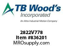 TBWOODS 2822V778 2822V778 VAR SP BELT