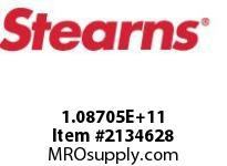 STEARNS 108705200224 RL TACH MACHW/ SPLN HUB 8000302