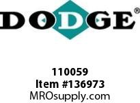 DODGE 110059 8/8V21.2-5050