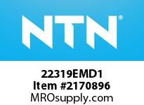 NTN 22319EMD1 SPHERICAL ROLLER BEARING