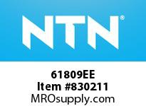 NTN 61809EE SMALL SIZE BALL BRG(THIN)