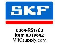 SKF-Bearing 6304-RS1/C3