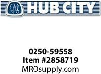 HUB CITY 0250-59558 SSHB2063PL 115.64 182TC Helical-Bevel Drive