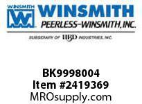 WINSMITH BK9998004 STD BASE KIT 913D DB DIMS WORM GEAR REDUCER
