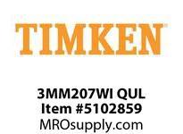 TIMKEN 3MM207WI QUL Ball P4S Super Precision