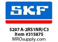 SKF-Bearing 5207 A-2RS1NR/C3