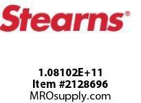 STEARNS 108102202145 BRK-BRASSHTRSTNL NMPLT 140010