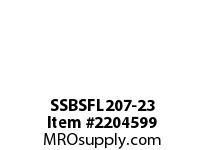 PTI SSBSFL207-23 SS 2-BOLT FLANGE BEARING-1-7/16