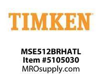 TIMKEN MSE512BRHATL Split CRB Housed Unit Assembly