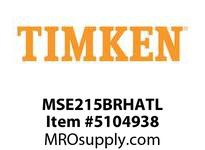 TIMKEN MSE215BRHATL Split CRB Housed Unit Assembly