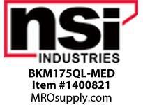 NSI BKM175QL-MED 175W MH QUAD W/ CAP/BRACKETS W/ MED LAMP