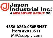 Jason 4358-0250-050ERNST NBR/PVC DISCH 2-1/2 X 50 CPLD