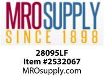 MRO 28095LF 3/8 BRASS C/S HEX PLUG AB1953