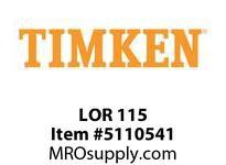 TIMKEN LOR 115 SRB Pillow Block Component