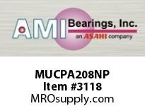 AMI MUCPA208NP 40MM STAINLESS SET SCREW NICKEL TAP