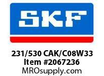 SKF-Bearing 231/530 CAK/C08W33
