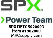 SPX DFTCR020003 TWL/LDF2 Crank (Head 3)