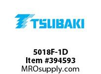 US Tsubaki 5018F-1D 5018 1 1/4 FINISHED BORE