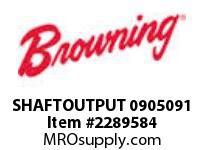 Browning SHAFTOUTPUT 0905091 RENEWAL PARTS USGM