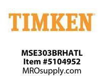 TIMKEN MSE303BRHATL Split CRB Housed Unit Assembly