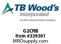 TBWOODS G2CRB 2CX1/2 RB GEAR HUB